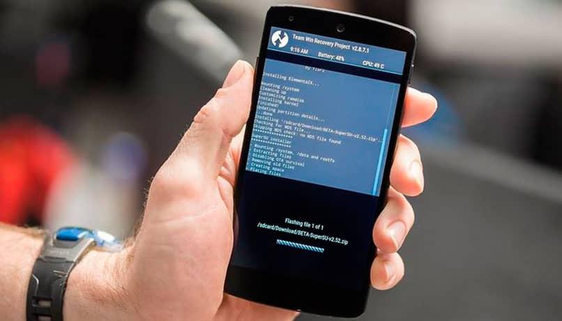 Proceso del modo Recovery en Android