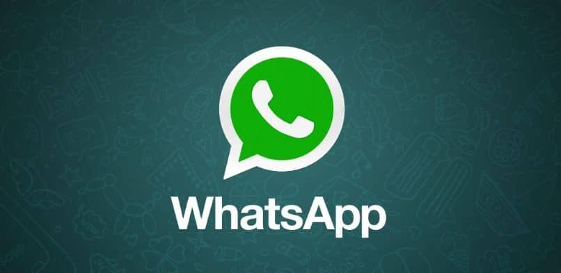 whatsapp logo fondo verde
