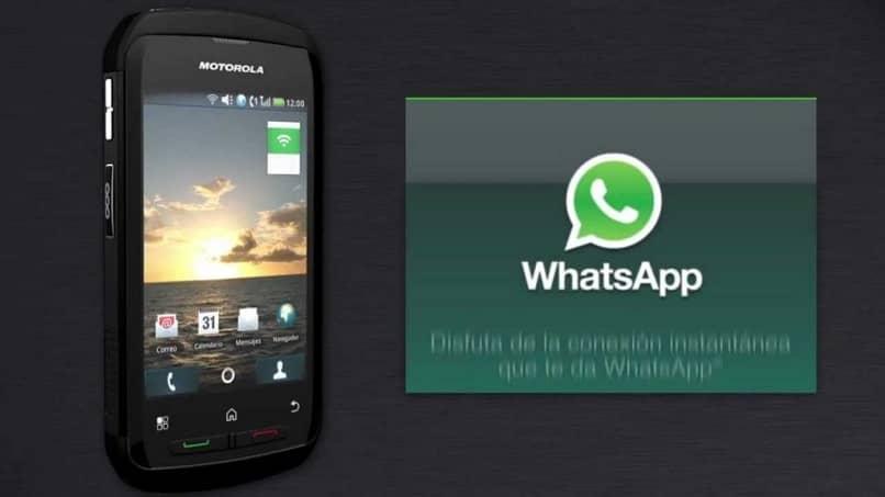 sugerencias para tener whatsapp en un motorola blur