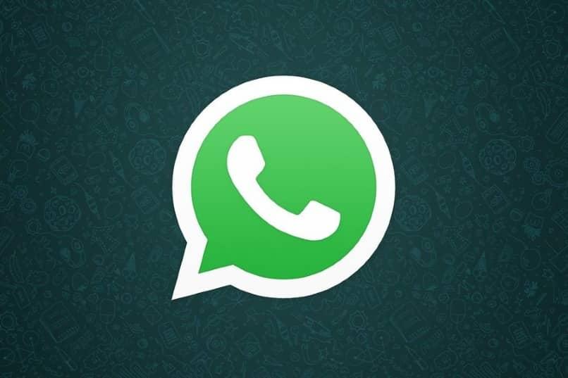 icono app whatsapp fondo oscuro