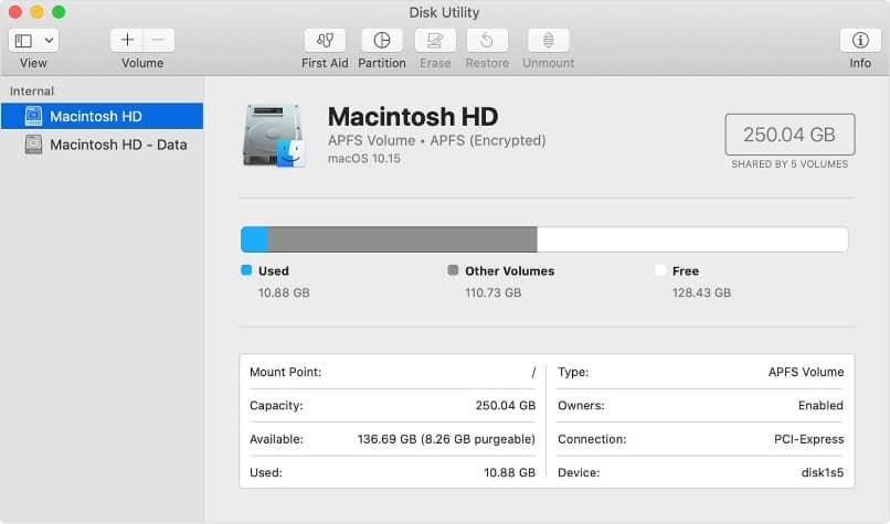 pantalla macintosh hd mostrar archivos carpetas ocultas