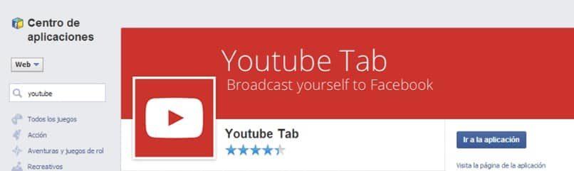 pantalla de acceso youtube