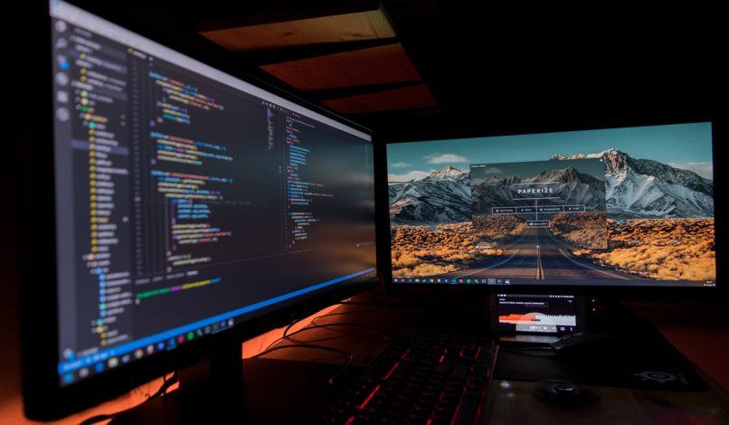 monitores dual vga