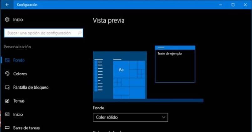 configurar modo oscuro windows