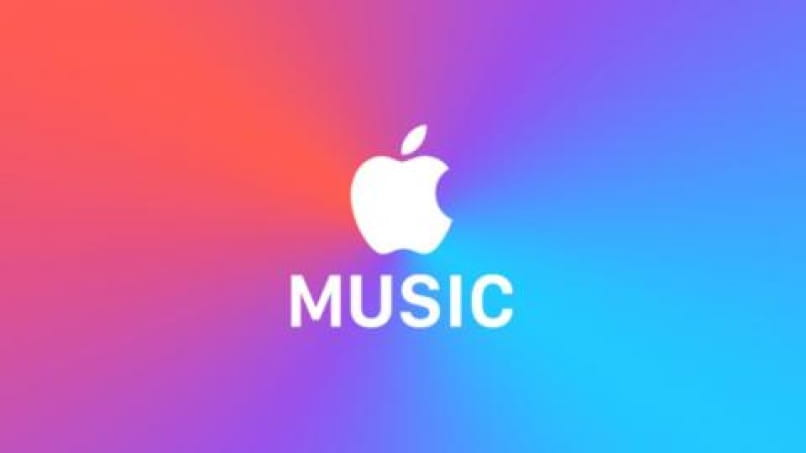 imagen apple music fondo de colores