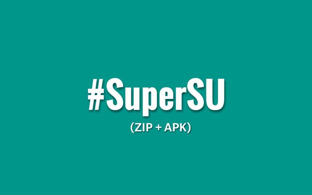 cambiar VRoot SuperUser por SuperSu