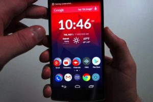 Capturas de pantalla OnePlus, HTC, Phillips, Alcatel