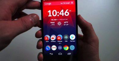 Capturas de pantalla OnePlus, HTC, Phillips, Alcatel