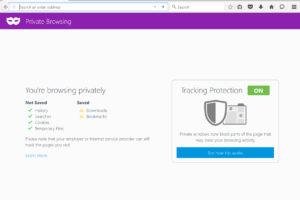 Cómo activar Modo Incógnito Mozilla Firefox
