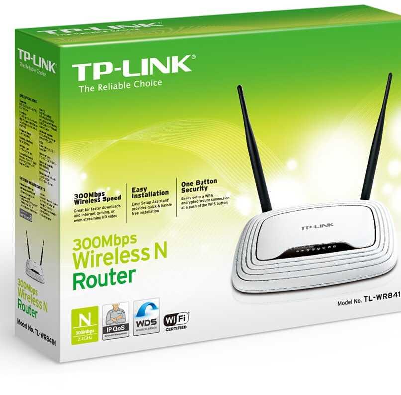 caja original del router tp link estandar
