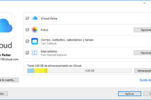 Crear Cuenta iCloud Windows 7 Windows 8 Windows 10