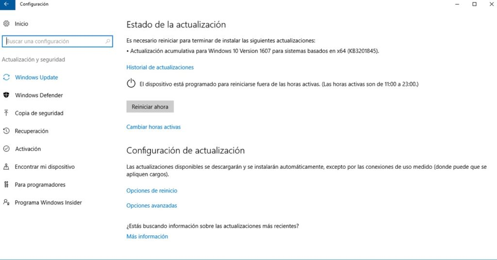 Desactivar Actualizaciones Automáticas Windows 10