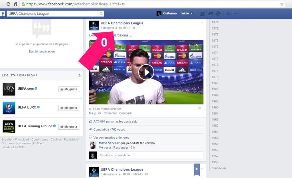 Descargar Vídeo Facebook