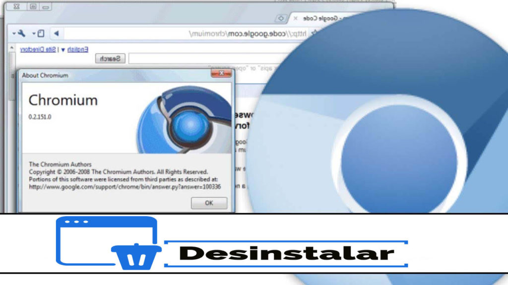 Desinstalar Chromium Windows Mac
