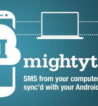 Enviar SMS desde Ordenador MightyText 1