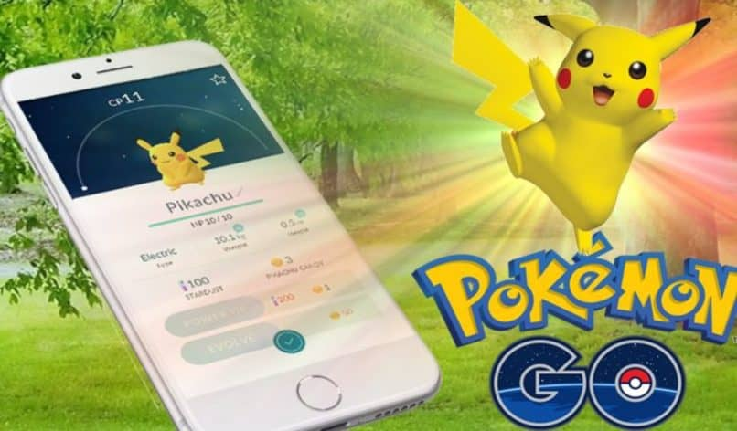 estadisticas de pikachu en pokemon go movil