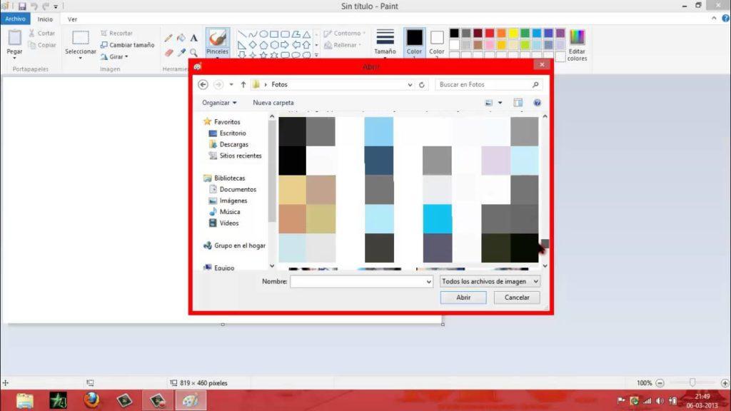 Pixelar imágenes Paint 1