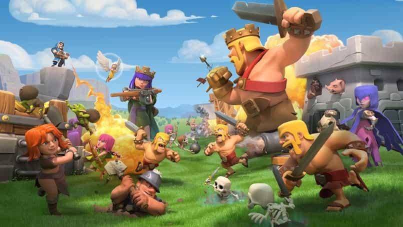 batalla de clash of clans