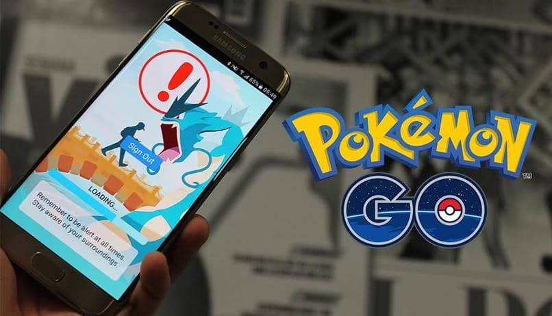 pantalla para registrarse en pokemon go