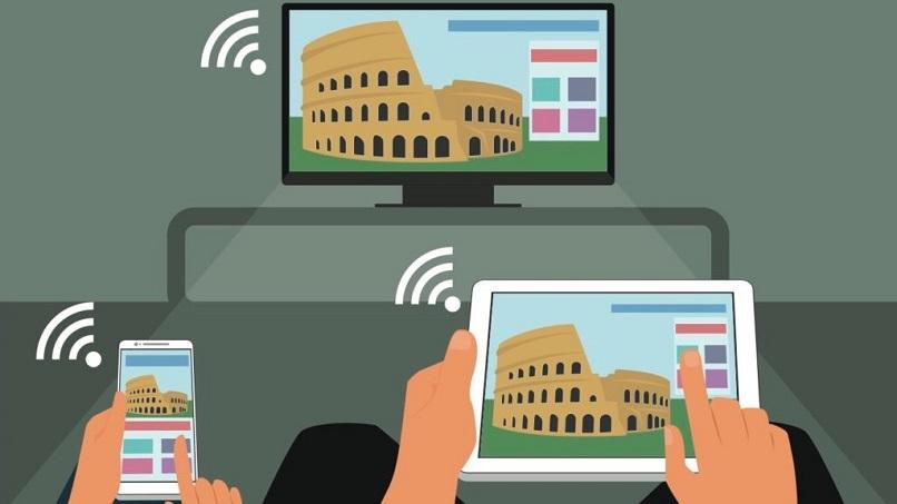 conectar un Smart tv samsung vía wifi