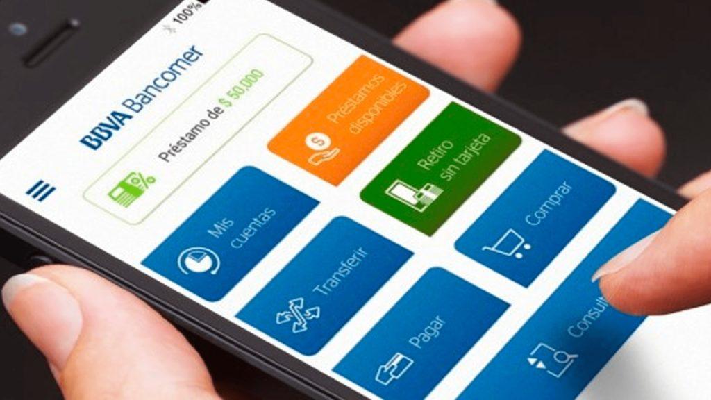 Transferencias aplicación Bancomer 0