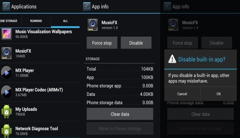 desinstalar app movil android