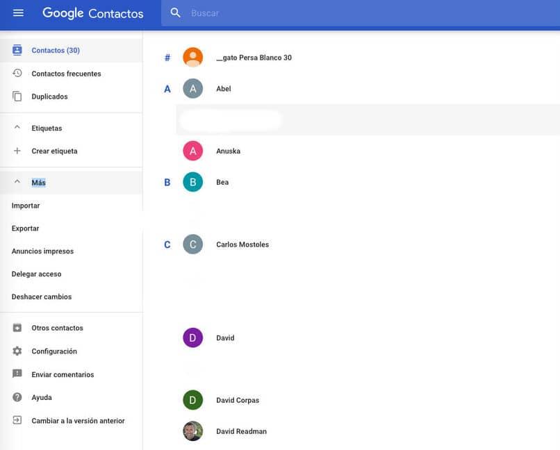 pasar lista de contactos de iphone a gmail