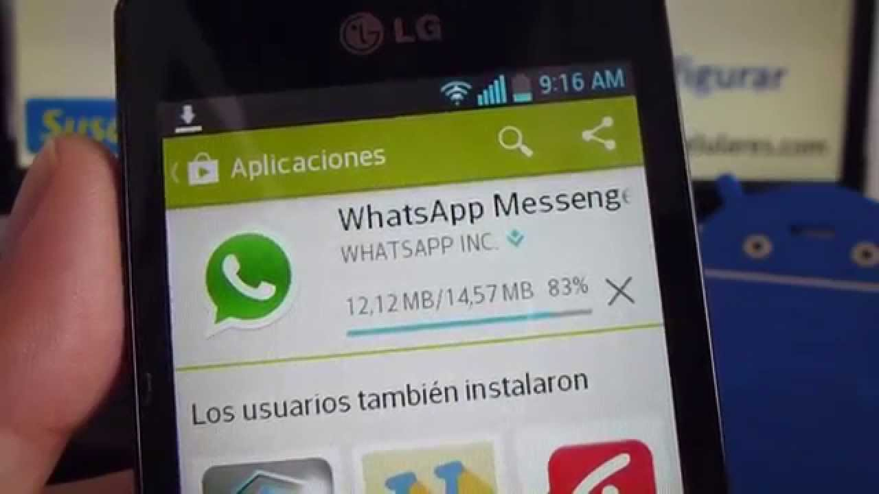 descargar whatsapp gratis para lg t310
