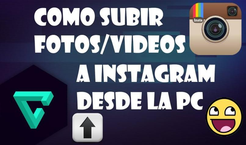 publicar fotos instagram pc