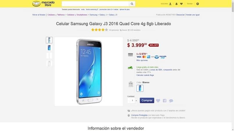 comprar celular en mercado libre