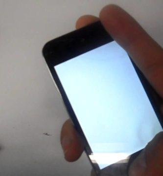 Móvil pantalla en blanco 2