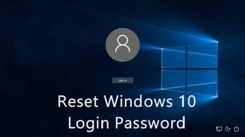resetear clave en windows y poner una nueva