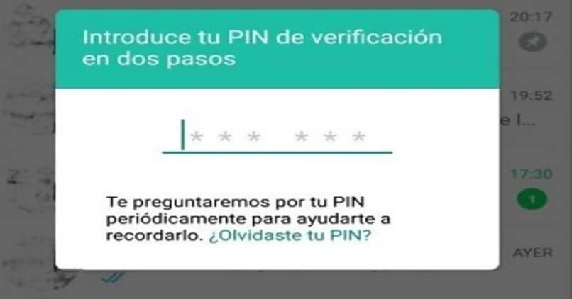 verificacion en dos pasos whatsapp