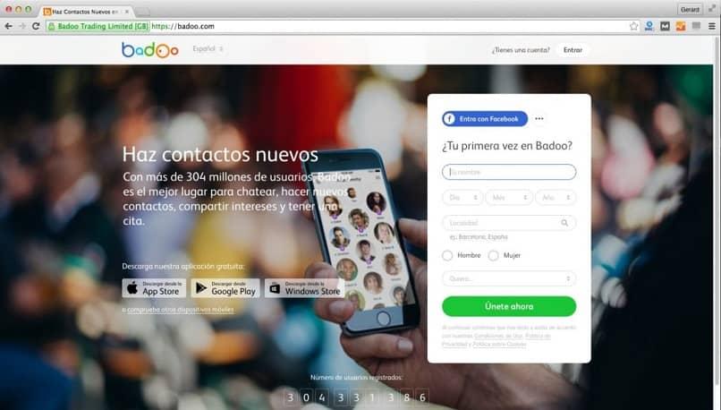 red social badoo plataforma para conocer personas