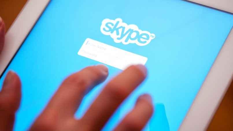 tablet skype