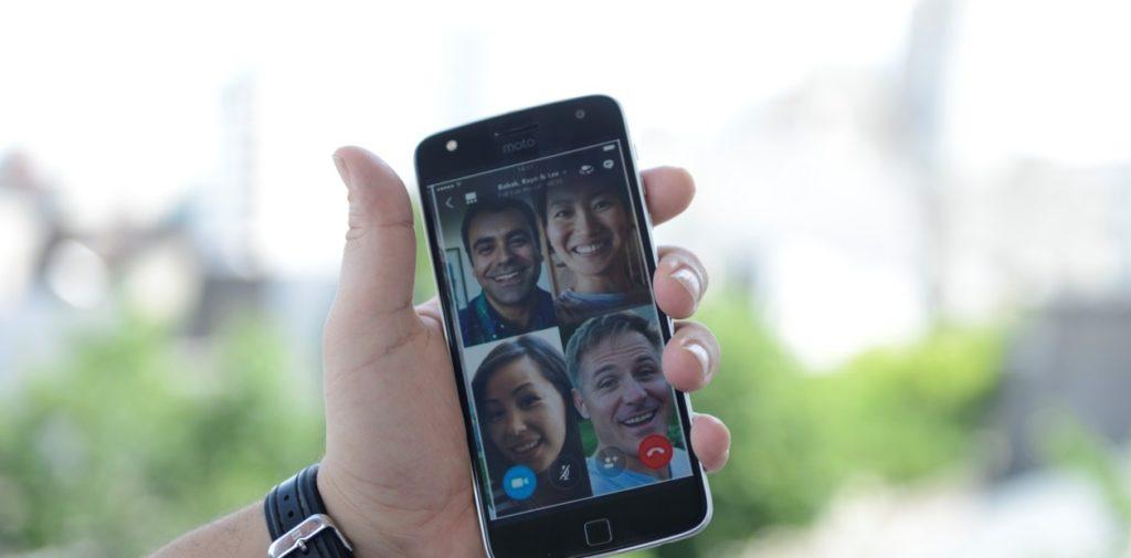 Videollamadas grupales WhatsApp 1