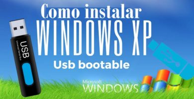 Windows XP USB Booteable 1