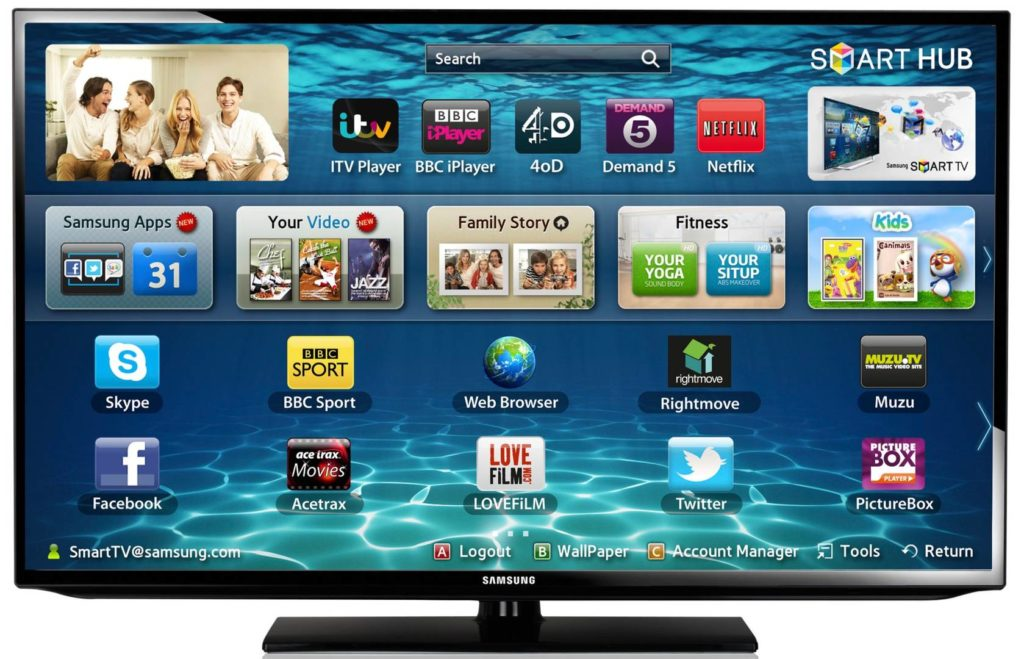 Aplicaciones no oficiales Smart TV Samsung 1