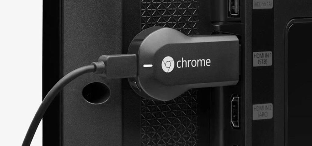 Cambiar WiFi Chromecast 1