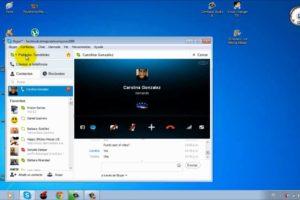 Compartir pantalla Skype 1