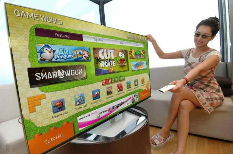 instalar juegos para smart tv