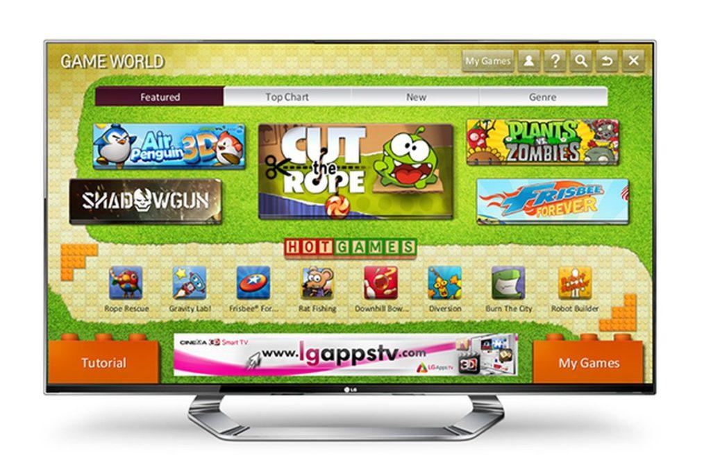 Juegos en Smart TV 1