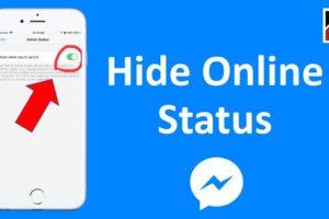 Ocultar conectado en Messenger 1