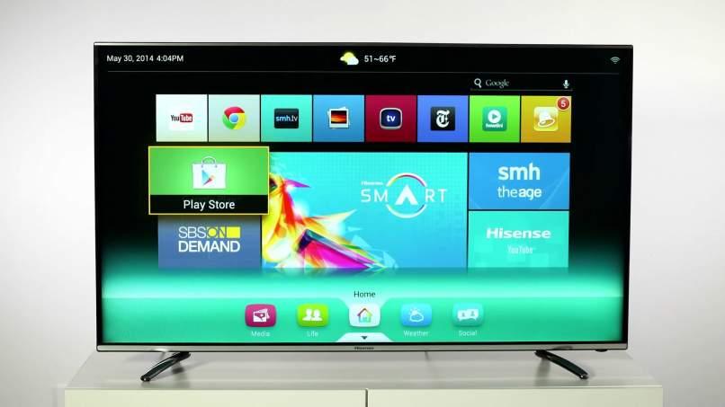 instalar juegos directamente en smart tv por play store