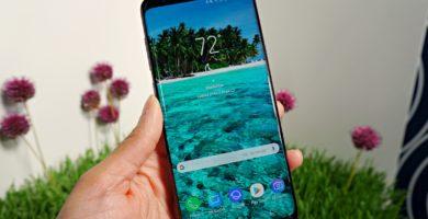 Samsung Galaxy S9 pantalla rayas 0,5