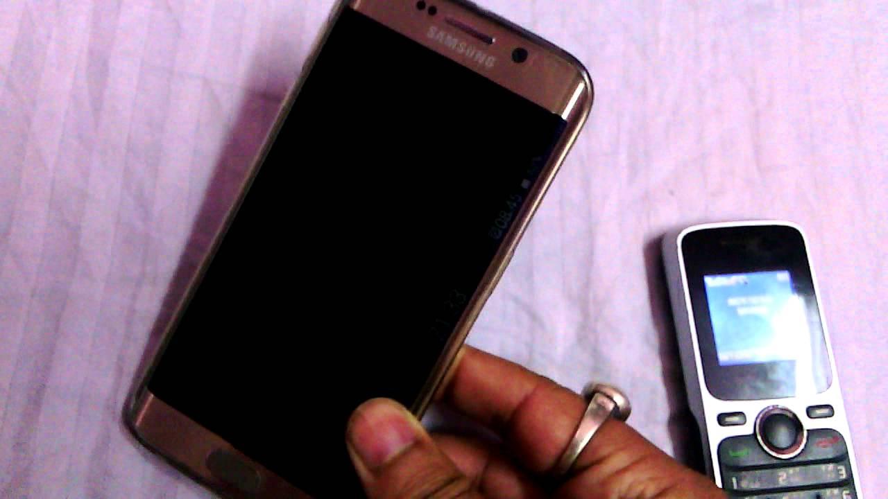 Problema en Samsung Galaxy de Pantalla Negra y Luz LED Azul
