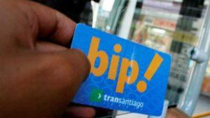 saber el saldo de la tarjeta bip transantiago