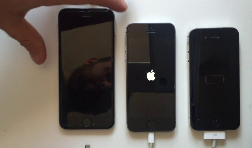 cargando bateria iphone