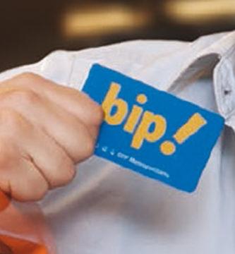 Ver saldo tarjeta Bip 1