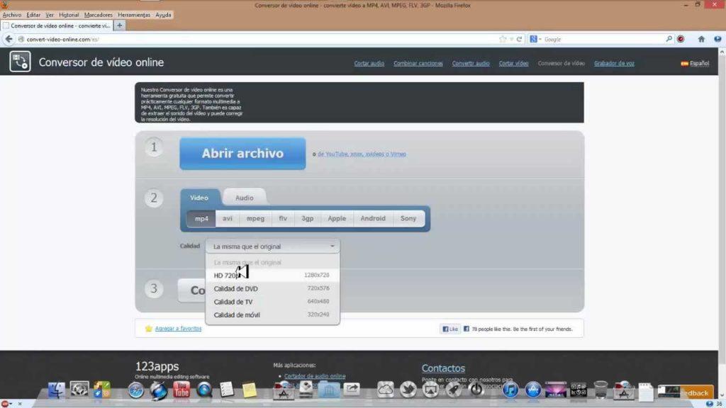 Cambiar el Formato de un Vídeo o Audio Sin Usar Programas